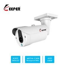 키퍼 소니 센서 1080 p видеонаблюдение ahd 아날로그 카메라 2mp ir 나이트 비전 cctv 야외 방수 보안 카메라 2019 뜨거운