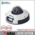 SUNELL E2ZD PoE Dome Camera with 2.8 or 3.6mm Lens Indoor HD1080P Mini Camera Support Onvif  POE IP Camera