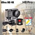 Original Eken H8 PRO 4 K Ultra HD Wi-fi Câmera de Ação Ambarella chip de A12 2.0 'Tela 4 k/30fps 1080 p/120fps h8pro 4 k esporte câmera