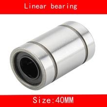 4 piece/lot LM30UU LM40UU linear ball bearing Linear Bearing 30mm 40mm 3d printer LM30 LM40 3D printer cnc parts недорого
