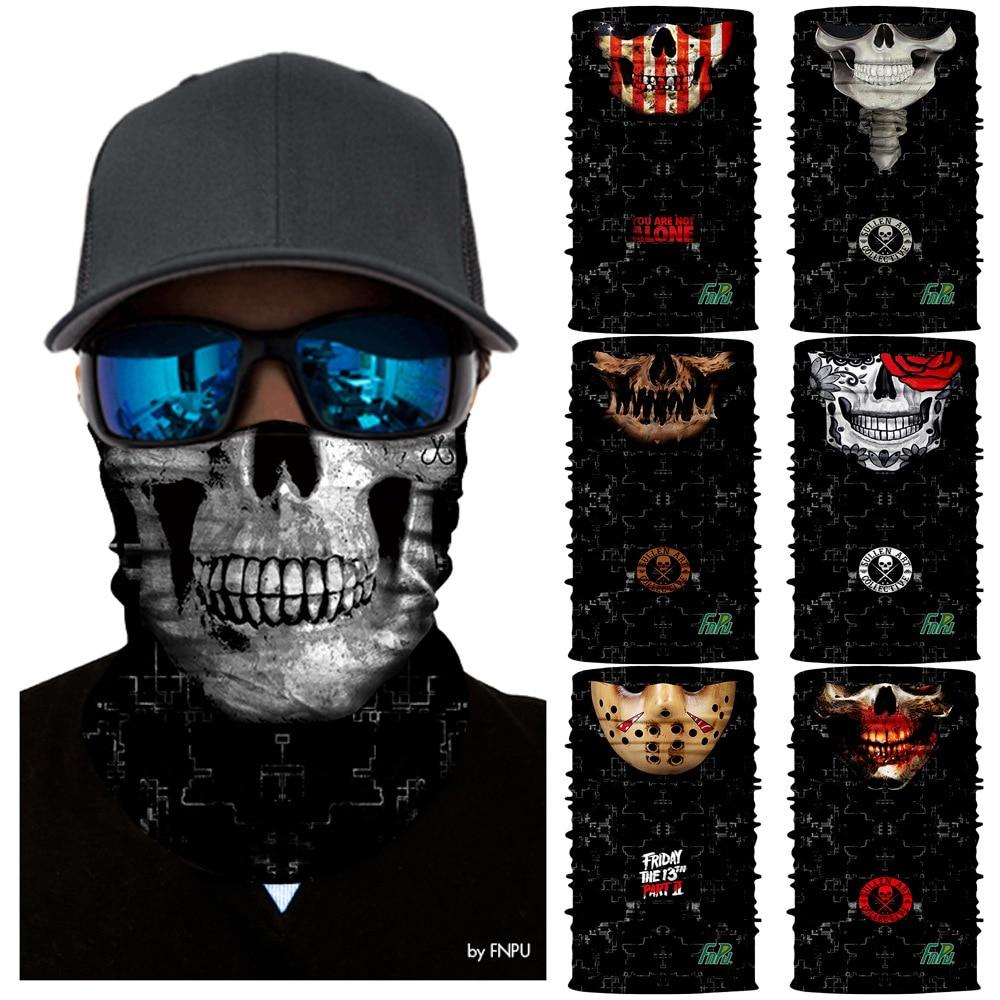 WOW Windproof Magic Fishing Scarf Horde Face Mask Skull Cycling Hiking Ski Headwear Sport Bandanas Neck Gaiter Joker Balaclava