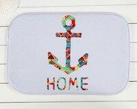 New Design Boat Ancho Home Door Front Non Slip Mat Carpet 40x60cm Entrance Doormats Living Room