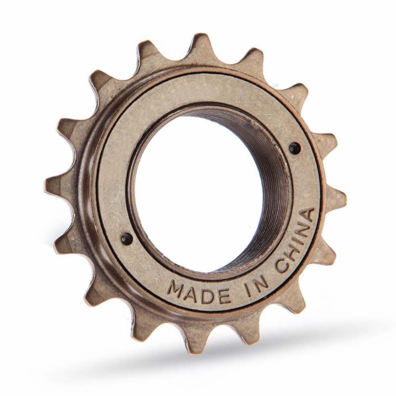 16T BMX Bike Bicycle Tooth Singlespeed Freewheel Sprocket Brown 34 mm Metal Bronze Color Cycling Accessories Cyclist Spare Parts