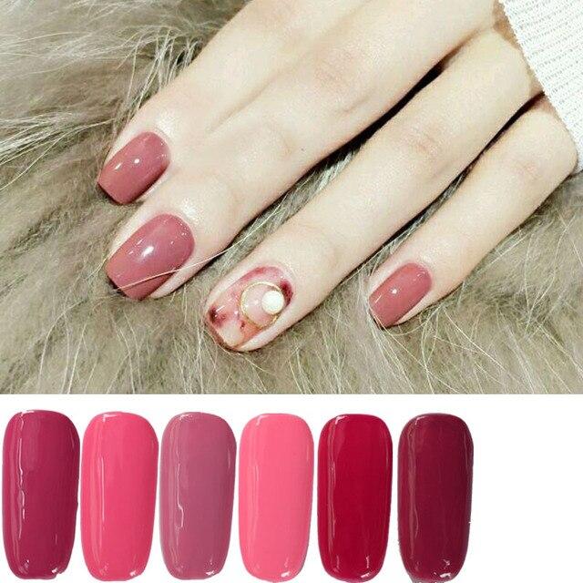 PVADCOL Gel Polish 2017 Newest Fashion Red Bean Series Color Nail ...