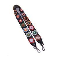 Flowers Crossbody Belts Rivet Replacement Shoulder Strap Handbag Accessories Bag Strap