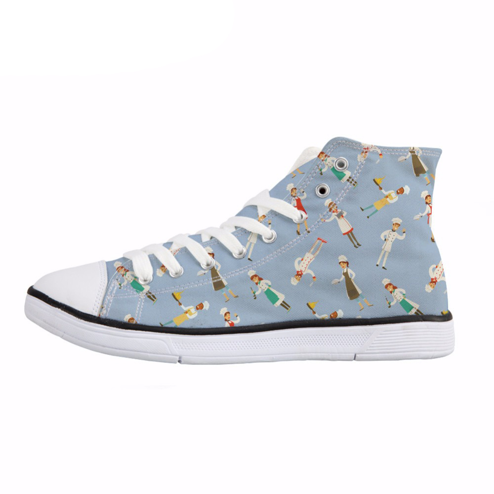 bc796c8ca61e NOISYDESIGNS-Happy-Chef-Design-Women-Canvas-Shoe-Stylish-Lacing-Up-High-Top-Vulcanize-Shoes- Breathable-Flat.jpg