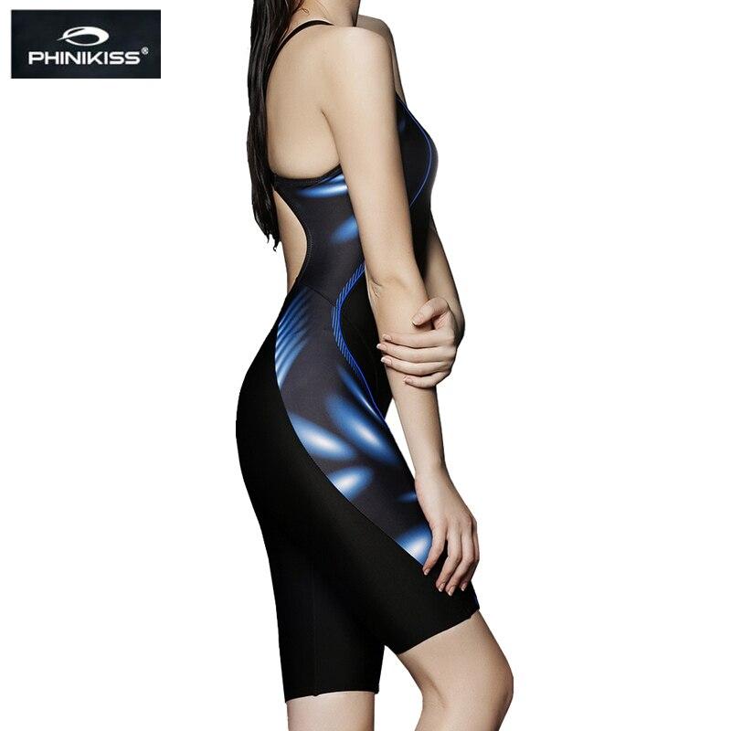 PHINIKISS Brand Competition Plus Size Swimwear Әйелдер Long - Спорттық киім мен керек-жарақтар - фото 3