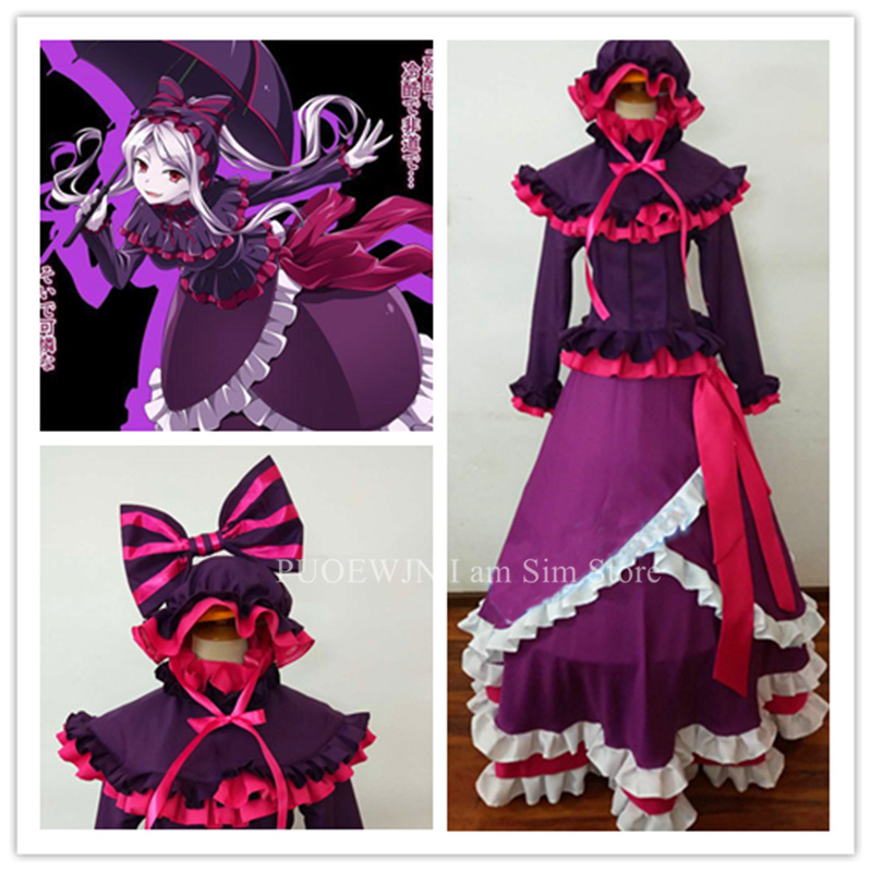 Anime Overlord Shalltear Bloodfallen Cosplay Costume in Anime Costumes from Novelty Special Use