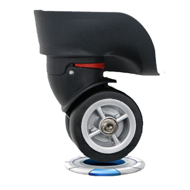 Durable Heavy Duty Swivel Wheel Casters Aircraft Trolley Luggage Accessories Universal Rolling Rollers Wheel Furniture Hardware circle