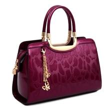Neue Mode luxus frauen taschen handtaschen frauen berühmte marken umhängetasche designer tote hochwertigen Lackleder umhängetasche