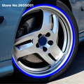 car wheel tire sticker Reflective rim tape for Volkswagen VW  t4 t5 golf 4 golf 7 vw Jetta Gol Fox CrossFox Saveiro