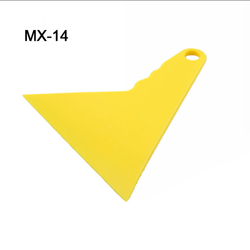 Image 2 - Durable Scraper Yellow Car Foil Tools Decal Scraper Glass Cleaning Tool MO 14-in Car Stickers from Automobiles & Motorcycles