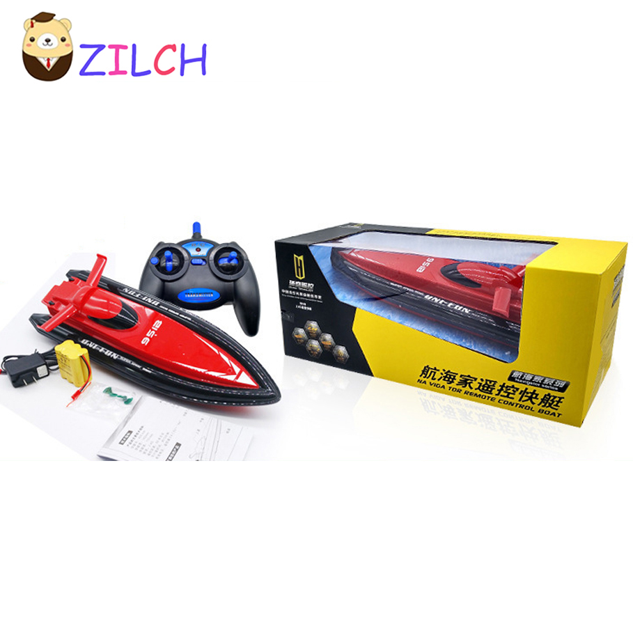 Range 60M Speed 15KM/H 2.4G Radio Remote Control Cruise Model RC Racing Speedboats Water Boat Electric Motorboat Toy ...