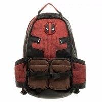 Filme Deadpool Comics Super Herói Da Guerra Civil Da Escola Bolsa de Laptop Mochila