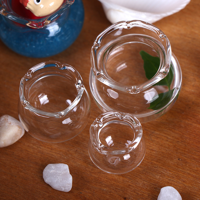 Miniature Glass Fish Tank Transparent Aquarium Dollhouse Home Ornaments Doll Toy Gift Pretend Play Kids 1:12 Dollhouse Toys