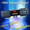 Frete grátis 4icp4/67/90 ap12b3f bateria do laptop original para acer aspire s5 s5-391 series 14.8 v 2310 mah 34wh