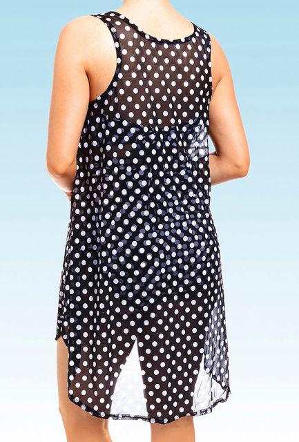 Women's Polka Dotted Bikini Cover Up