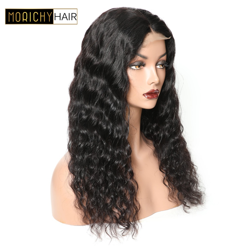 Loose Wave Lace Front Wig Pre Plucked With Baby Hair 150% Density Brazilian Lace Front Human Hair Wigs With Baby Hair Natural