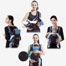цены 0-24 Months Breathable Front Facing Baby Carrier Infant Sling Backpack Hipseat for Newborn Baby Kangaroos Prevent o-type Legs
