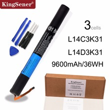 цены KingSener New L14C3K31 Battery for Lenovo Yoga Tablet 2 1050L 1050F 2-1050F 2-1051F 2-1050L 2-1050LC 2-1051L Yt2-1050 L14D3K31