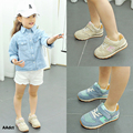 AAdct spring children shoes real leather girls shoes Fashion sports running boys shoes kids baby toddler sneakers Brand