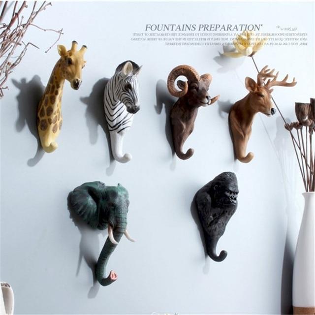 792d5f16886b6 Żywica Figurka Kolekcjonerska model figurki figurki zwierząt kreatywne  prezenty Zabawki retro Dekoracje domu Dekoracyjne haki