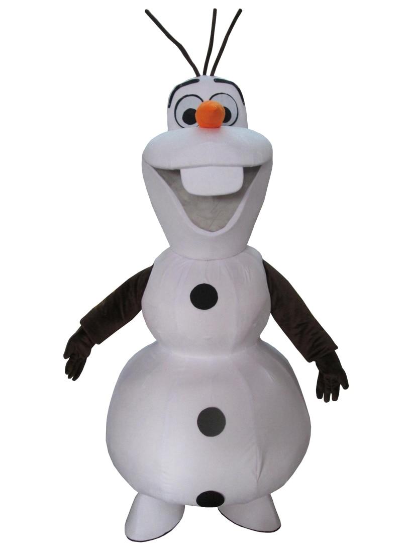 cosplay kostuums Olaf in de uitverkoop, niet te missen. Glimlachend - Carnavalskostuums