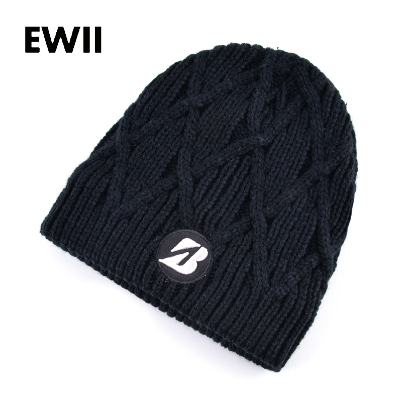 2017 Autumn winter knitted cap men skullies beanies striped hat for men casual warm caps women beanie hats gorro feminino fine three dimensional five star embroidery hat for women girls men boys knitted hats female autumn winter beanies skullies caps