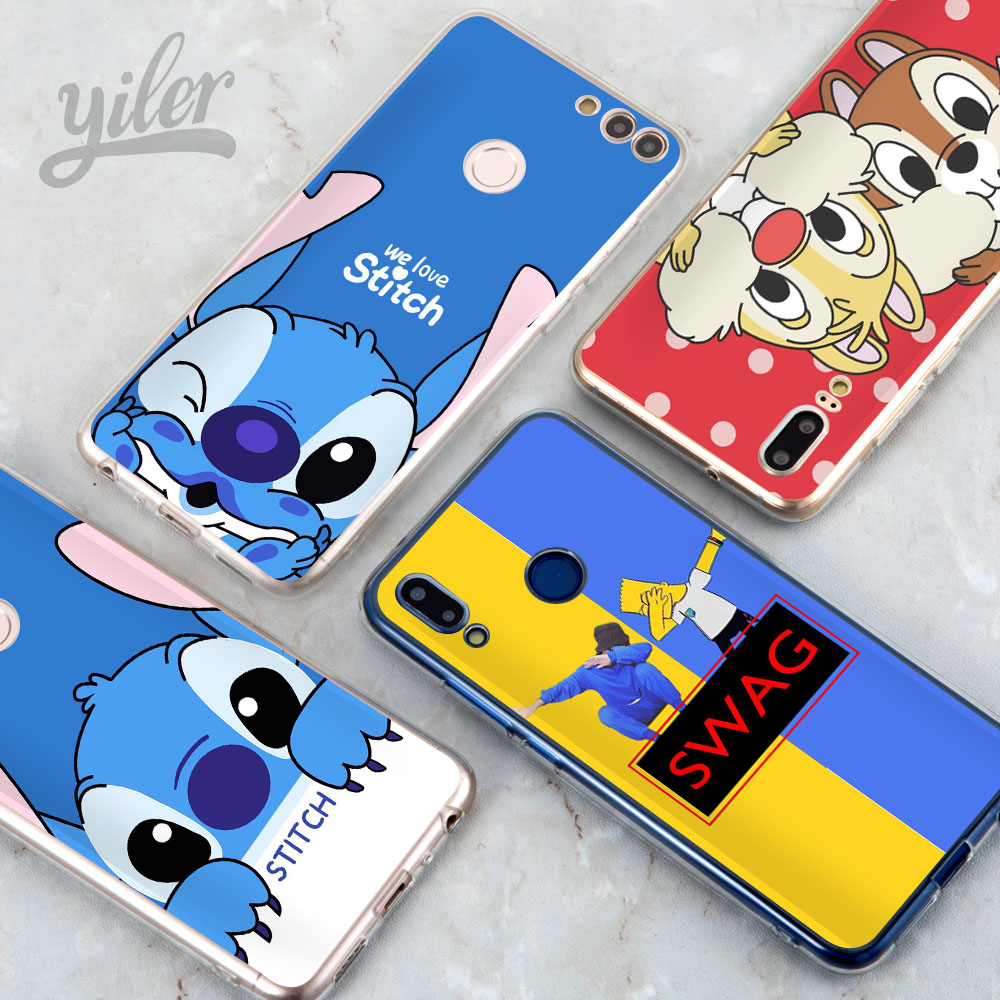 Coque Stitch for Huawei Mate 10 Lite Case P Smart Cases P20 lite P8 P9 P10 9