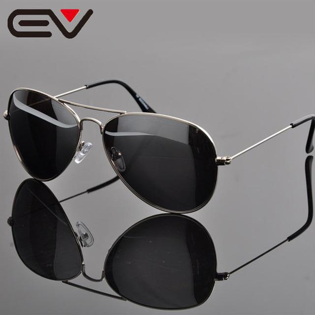 Material de Aviação óculos de Sol Nova América 2015 Hot Marca Homens Esportes Ao Ar Livre óculos de Sol Grátis Case & Pano gafas de sol EV0833
