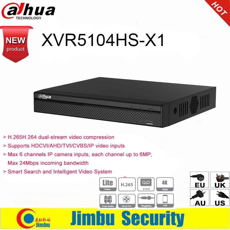 Dahua XVR XVR5104HS X1 4ch hasta 6MP H.265 H.264 búsqueda inteligente Penta brid 1080P IVS grabadora de vídeo Digital DVR-in Videograbadora de vigilancia from Seguridad y protección on AliExpress - 11.11_Double 11_Singles' Day 1