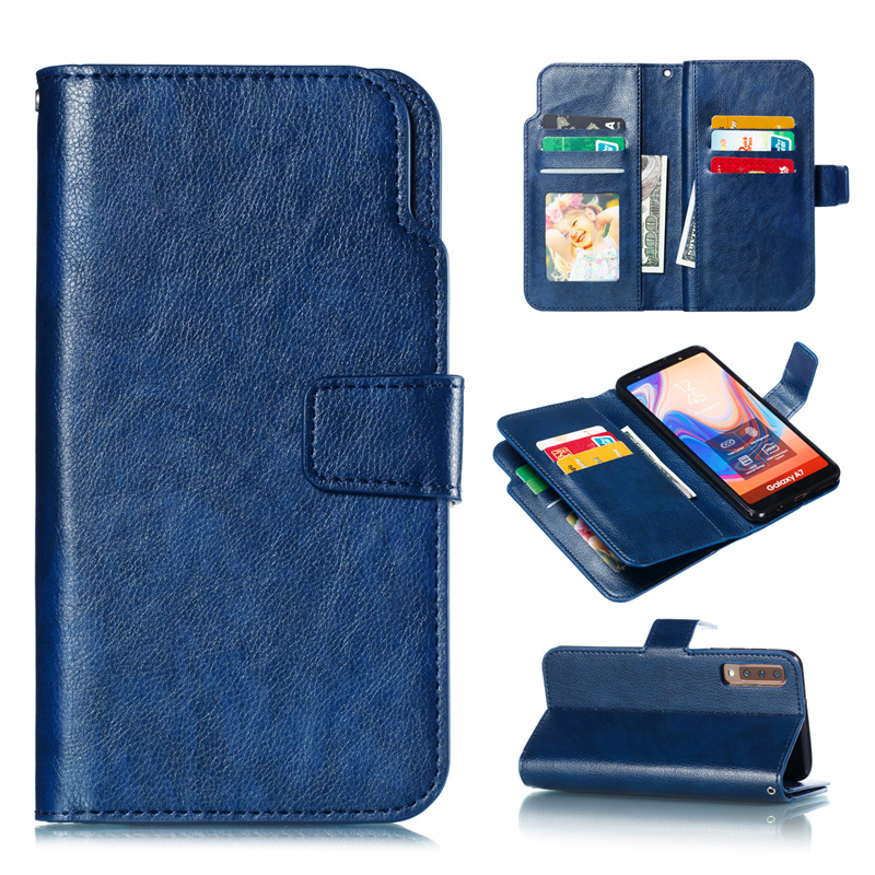 HTB1yoE7JpzqK1RjSZFvq6AB7VXaV Wallet A90 A80 A70 A60 A50 S A40 A30 A20 E Flip Cover Leather Case For Samsung Galaxy A5 A7 2017 A6 A8 Plus 2018 Phone Coque Bag