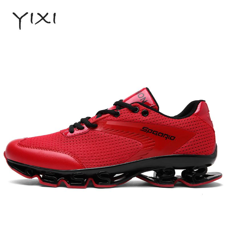 Mens Red Walking Shoes