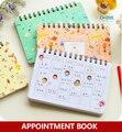 Cartoons terminkalender  Mädchen wochenplaner/tagesplaner für tagebuch  Notebook|appointment book|planner weeklyplanner daily -