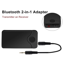 2 in 1 Bluetooth Transmitter Receiver Wireless Adapter Audio 3.5mm Bluetooth Adapter for Home TV Stereo Audio Adapter PC Phone