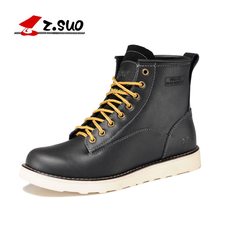 Z. Suo men boots, fashion canister boots restoring ancient ways in the male, the high quality brand with men's boots. zs6909 short boots woman the fall of 2017 a new restoring ancient ways british wind thick boots bottom students with martin boots