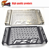 Stainless Steel Motorcycle Radiator Grille Guard Cover Protector For YAMAHA FZ 6 FZ6 2007 2010 2008 2009fz6