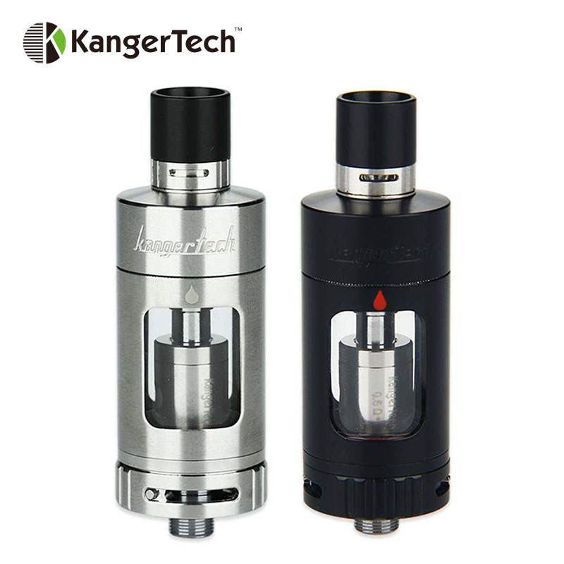 Original Kanger Protank 4 Evolved Atomizer Clearomizer 5ml Airflow Adjustable Velocity Style RBA Deck With Dual Clapton Coil