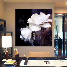 (No Framed) Factory wholesale Flower series poster Custom Canvas Print On Printing Wall Pictures Home Decoration