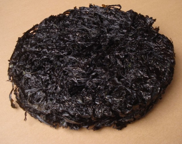 2014 Free Shipping Dried Laver 250g seaweed Marine red algae algae plants rich nutrition food China A-class food Of wild