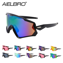 купить Cycling Glasses 2019 Mountain Bicycle Road Bike Sport Cycling Sunglasses Men Eyewear Gafas oculos ciclismo masculino дешево