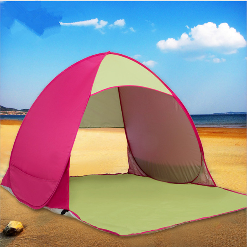 Tent Two People Speed Open Automatic Beach Tent Shade Sunscreen Double Tent Outdoor