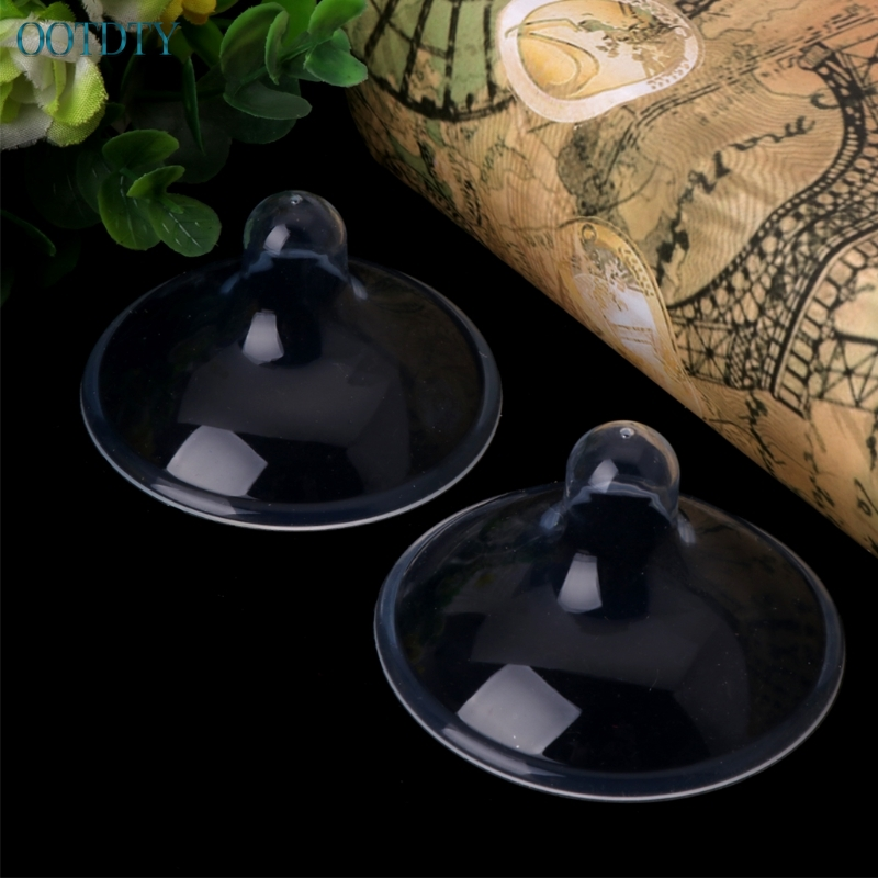 High Quality 2pcs Silicone Nipple Shield Maternity Protector Baby Nursing Breast Milk Feeding Shell #330