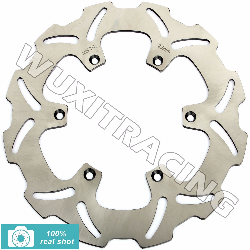 New Front Brake Disc Rotor for YAMAHA WR 125 250 450 F 01-17 02 03 04 05 06 07 08 09 10 11 12 13 14 15 YZ 125 250 450 F 01-2016 mfs motor motorcycle part front rear brake discs rotor for yamaha yzf r6 2003 2004 2005 yzfr6 03 04 05 gold