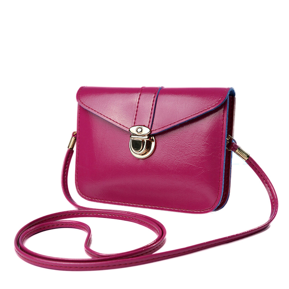 Fashion brand new and high quality Zero Purse Bag Leather Handbag Single Shoulder Messenger Phone Bag