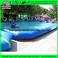 Unicornio inflable gigante piscina flotante, piscina cubierta automática para juguetes para la piscina inflable