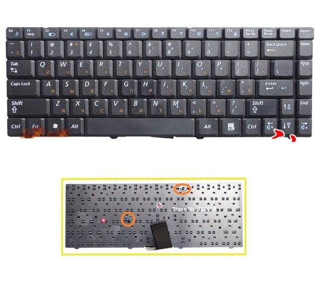 Новый Русский клавиатура для Samsung R519 NP-R519 ноутбук RU клавиатура