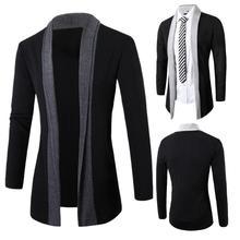 Men's Jacket Fashion  Winter Outerwear & Coats  Warm Slim Long Sleeve Casual Jackets  jaqueta masculina   Men's Clothing 18AUG4