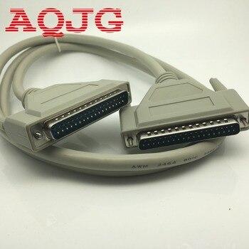 חדש 1.4M DB37 37Pin זכר לזכר M/M יציאה טורית נתונים כבל כבל עבור חוט מדפסת AQJG