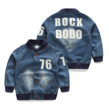 2015 children's male autumn child clothing baby kids long-sleeve denim general outerwear top wt-4503